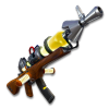 Vacuum Tube Rifle- 4 Stars - MAXED (Fortnite)