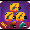 Assault Bundle 4 Stars (Fortnite)