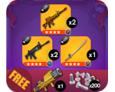 Up In Arms Bundle 1 (Fortnite)