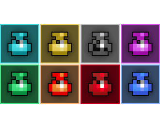 8x Potions Mix-Rainbow (In-game Trade)