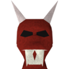 Red halloween mask (RS3)