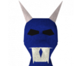 Blue halloween mask (RS3)
