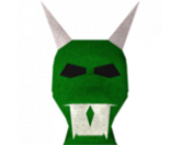 Green halloween mask (RS3)
