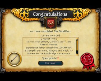 Blood Pact [RS3 Quest]