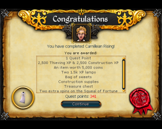 Carnillean Rising [RS3 Quest]