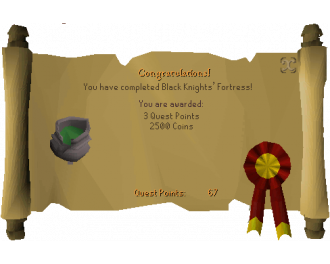 Black Knights' Fortress (OSRS Quest)