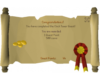 Clock Tower (OSRS Quest)
