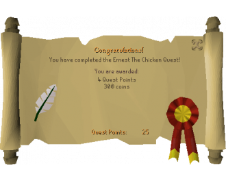 Ernest the Chicken (OSRS Quest)