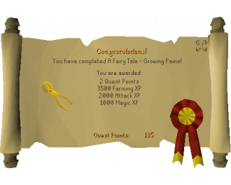 Fairy Tale Part I - Growing Pains  (OSRS Quest)