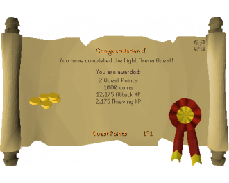 Fight Arena (OSRS Quest)