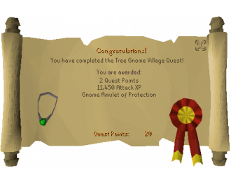 Tree Gnome Village [OSRS Quest]