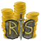1M Old School RS Gold