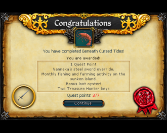 Beneath Cursed Tides (RS3 Quest)