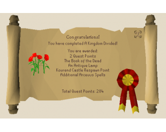 A Kingdom Divided  [OSRS Quest]