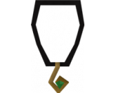 Third-age amulet (Old School )
