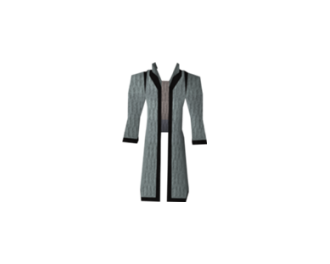 Third-age robe top (Old School )
