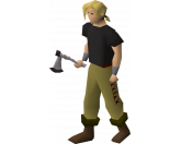 Third-age pickaxe  (Old School)