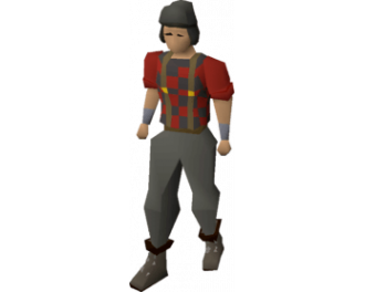 Temple Trekking Minigame / Lumberjack outfit [Old School]